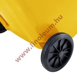 240 literes kerekes szemetes kuka – sárga